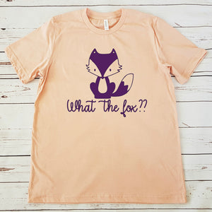 What the fox?  - DIY Iron-On Decal - Heat Transfer Vinyl (HTV)