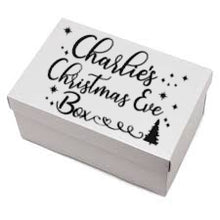 Christmas Eve Box Personalised Sticker - Cusom Decal Label