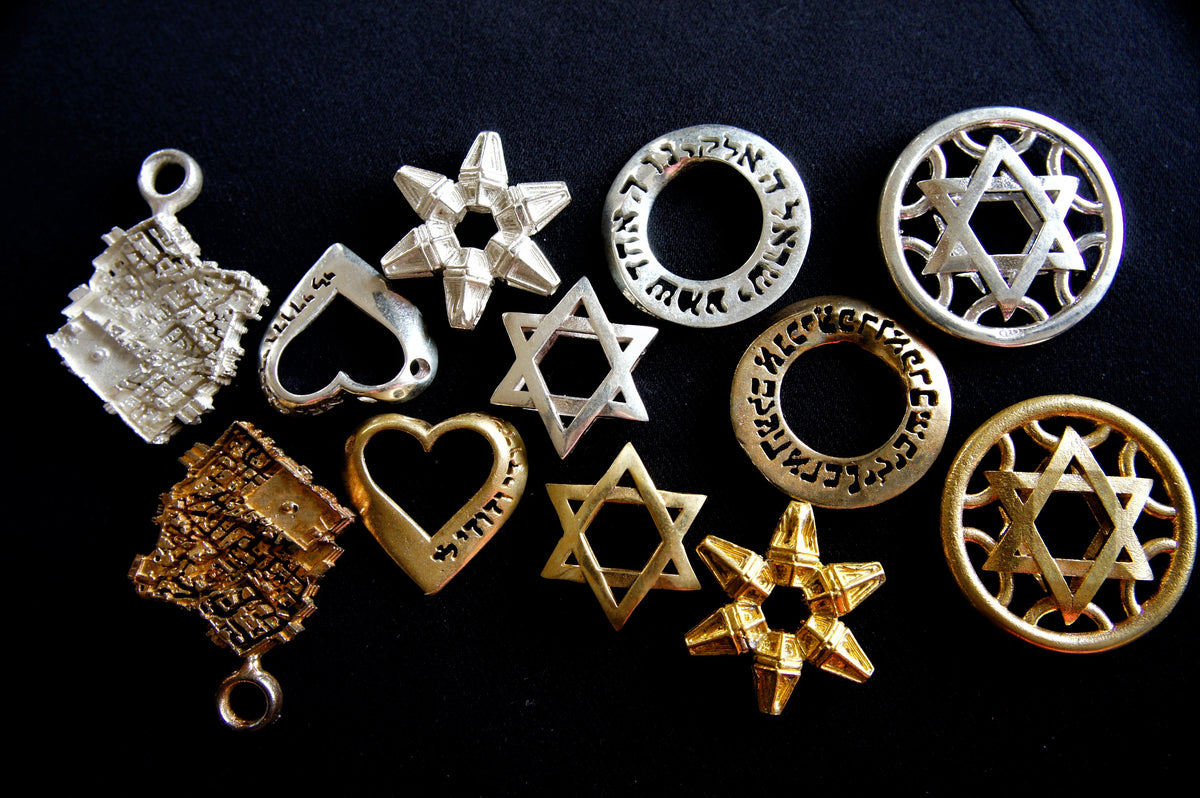 Jekipp Jewelry Judaica Kabala Jewelry