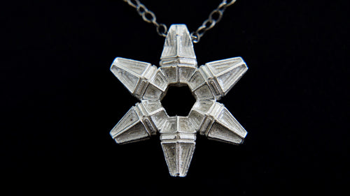 Snowflake Star Necklace