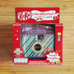 KITKAT WATERPROOF CAMERA-GREEN