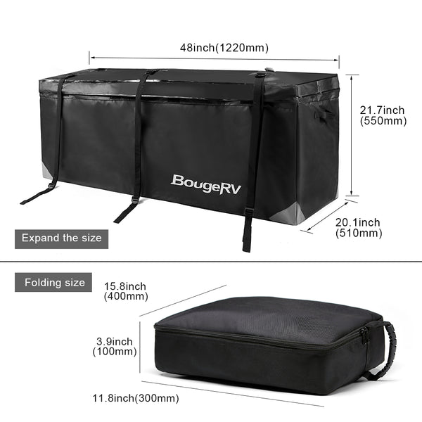 Car Tail Carrier Bag 12 Cubic Feet - BougeRV