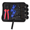 Solar Connectors Crimper Tool Kit for 10/11/12/13 AWG Solar Panel Wire 6 Pairs - BougeRV