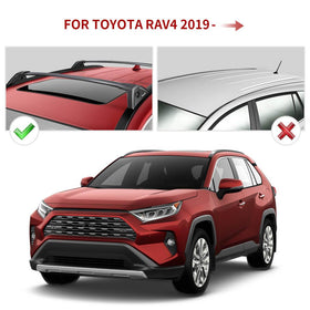 2019 2020 2021 Toyota RAV4 Roof Rack Cross Bars Replacement