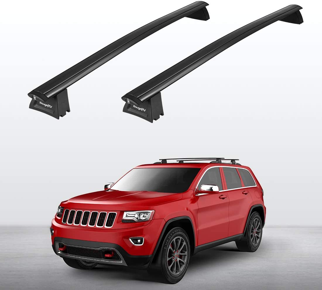 Aluminum Roof Rack Cross Bars for Jeep