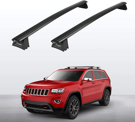 Roof Rack Cross Bars for 2011-2021 Jeep Grand Cherokee with Side Rails