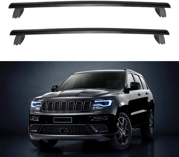 2011-2020 Jeep Grand Cherokee Roof Rack Cross Bars Aluminum - BougeRV
