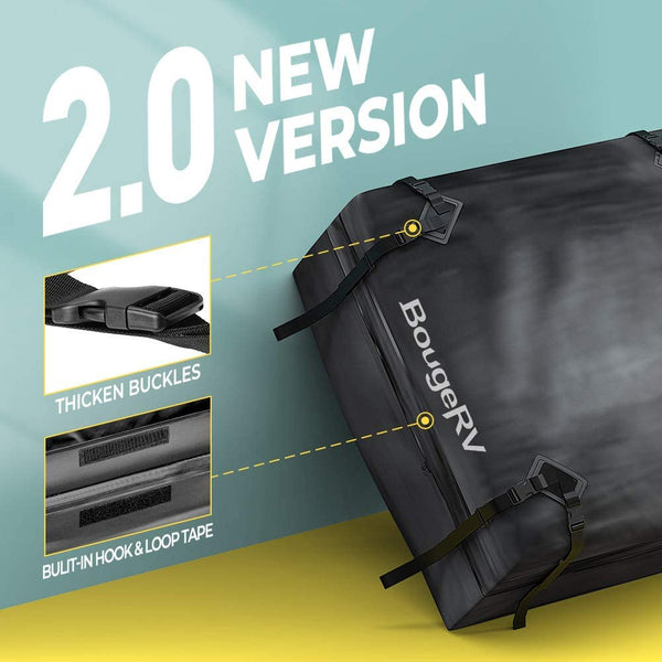 Rooftop Carrier Bag 15 Cubic ft - BougeRV