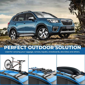 Car Roof Rack Cross Bars for 2014-2021 Subaru Forester, Aluminum Cross Bar