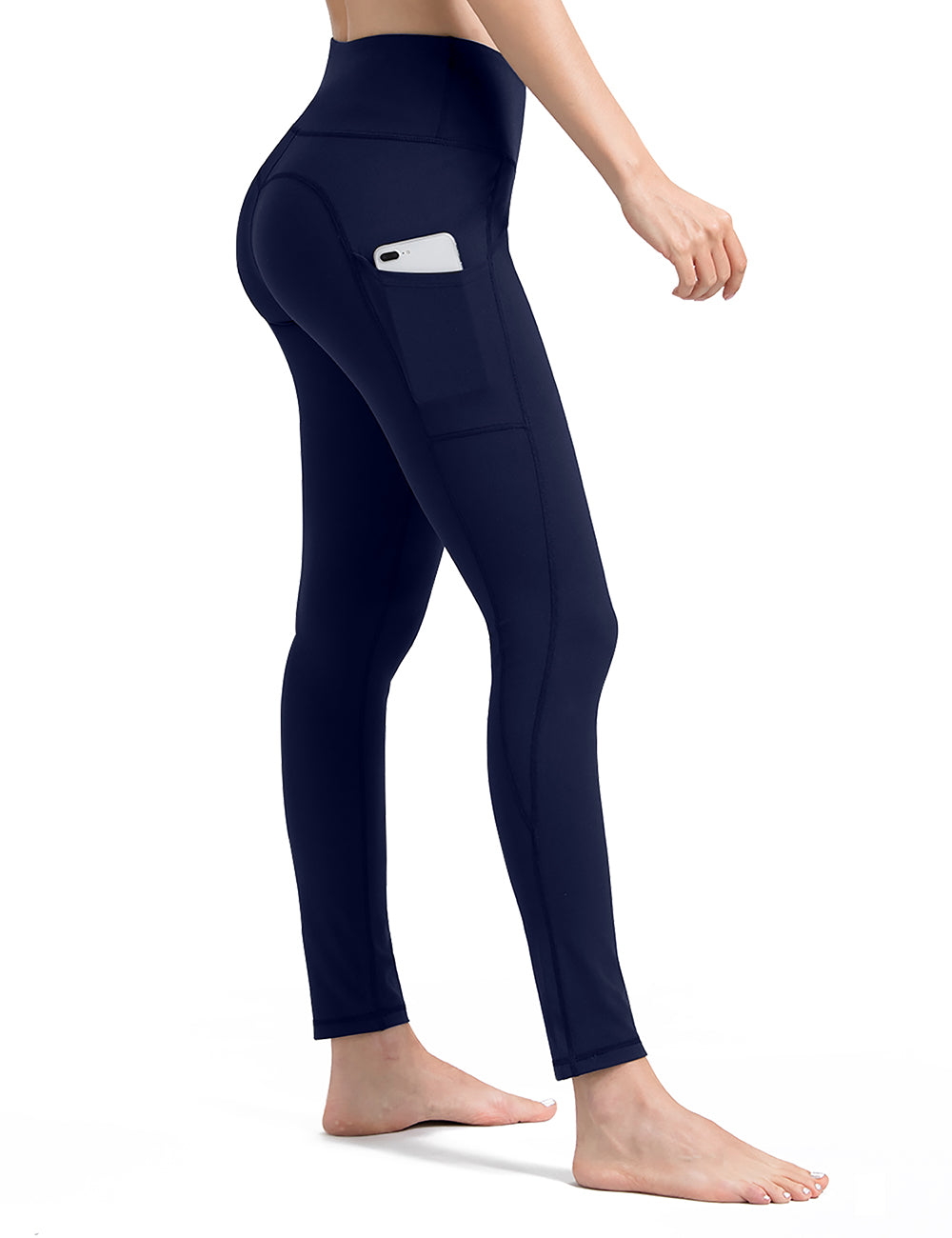 Royal Blue Women's Yoga Leggings - ALONGFIT