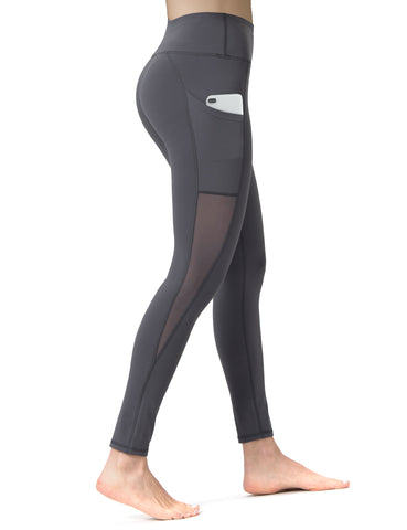 Mesh full length Yoga Pants - ALONGFIT