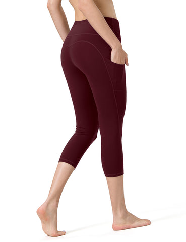 Vermilion Ladies Yoga Pants - ALONGFIT