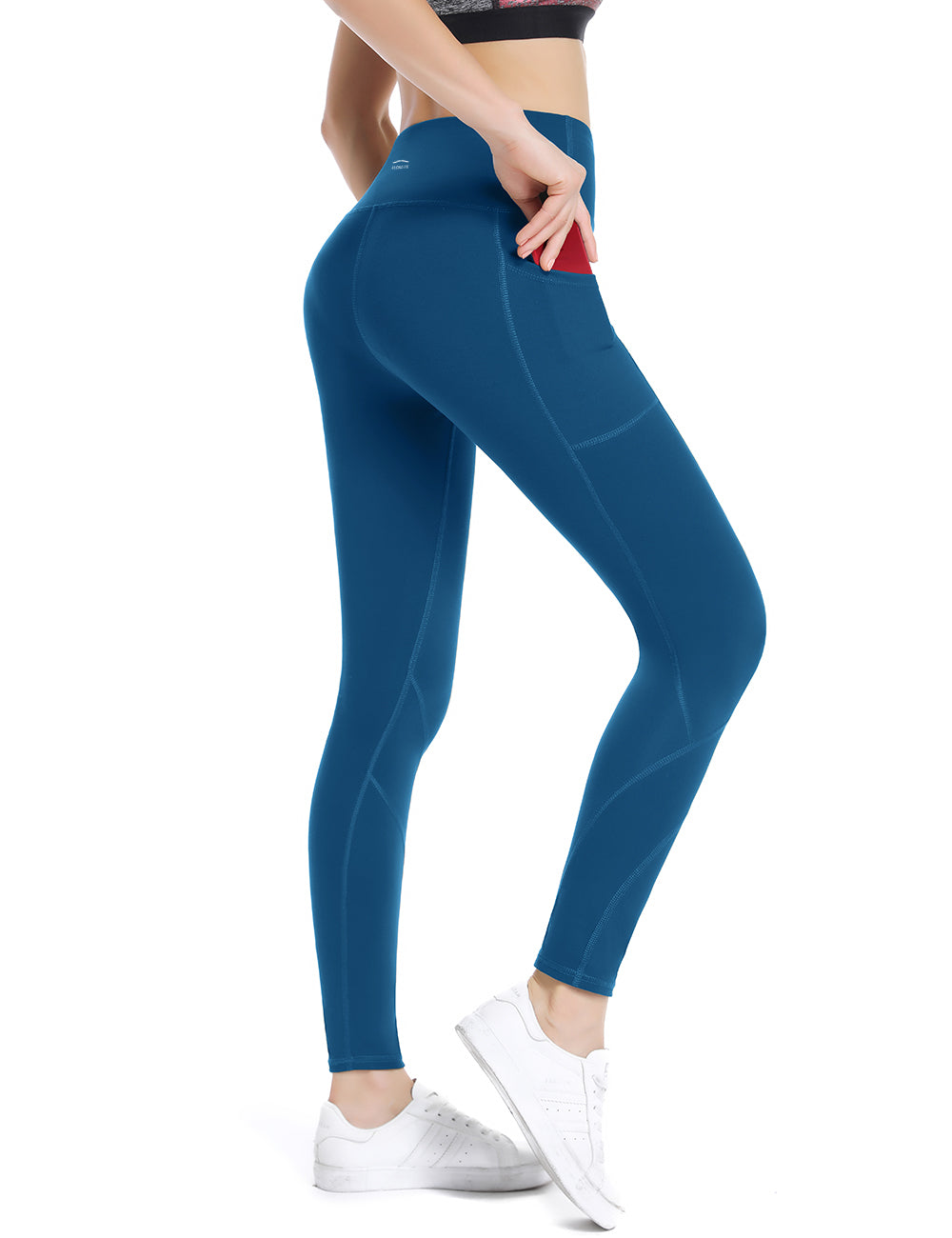 Classic Blue Yoga pants - ALONGFIT