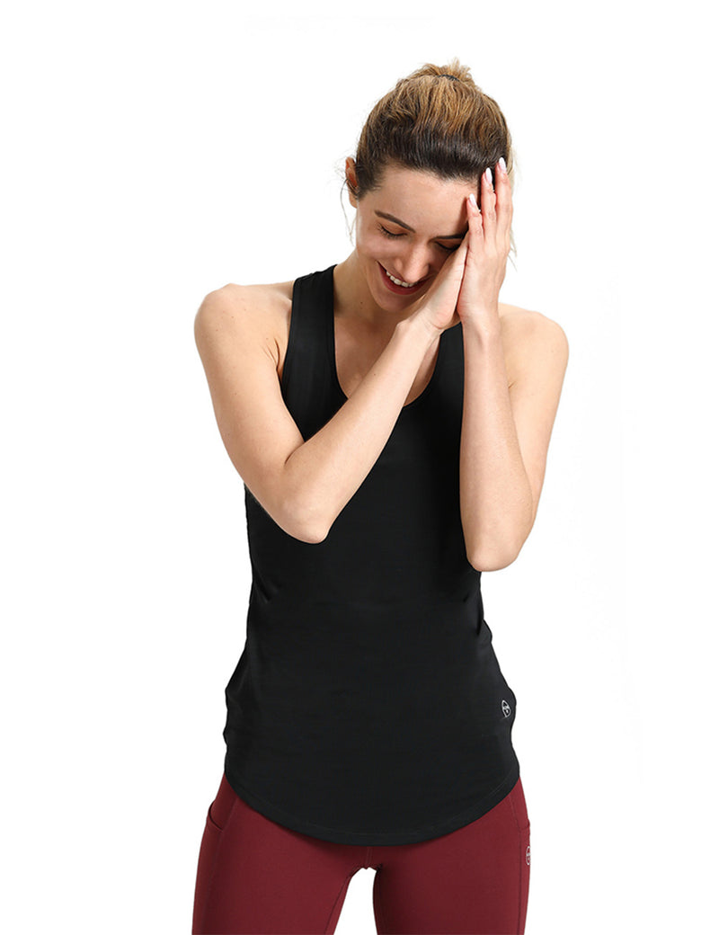 Black Tank Tops for Women