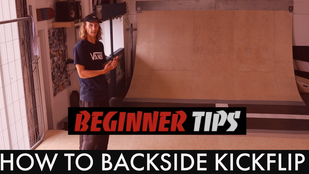 How To Backside Kickflip With Harry While - Beginner Tips