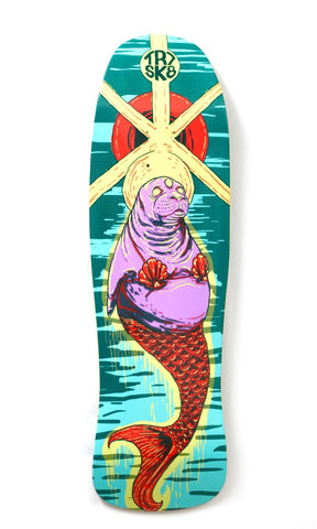 TR7 TRIPPY SEAL NOSS 88 SKATEBOARD DECK 9.0 - TR7 SKATE | LOCAL SKATE SHOP IN NEWQUAY | SKATER OWNED