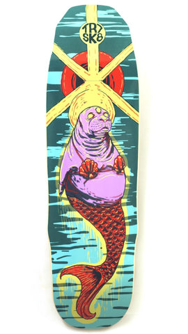 TR7 TRIPPY SEAL GOTHIKA SKATEBOARD DECK 9.0 - TR7 SKATE | LOCAL SKATE SHOP IN NEWQUAY | SKATER OWNED