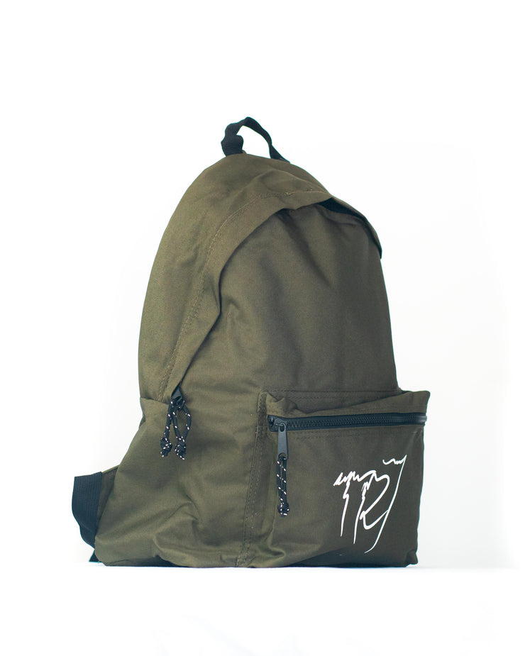 TR7 TEAM BACKPACK - MOSS - TR7 SKATE | LOCAL SKATE SHOP IN NEWQUAY | SKATER OWNED