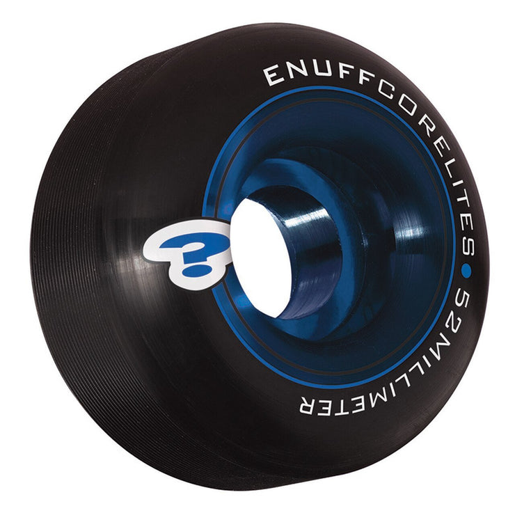 Enuff Corelites Wheels Black 52mm - TR7 SKATE | LOCAL SKATE SHOP IN NEWQUAY | SKATER OWNED