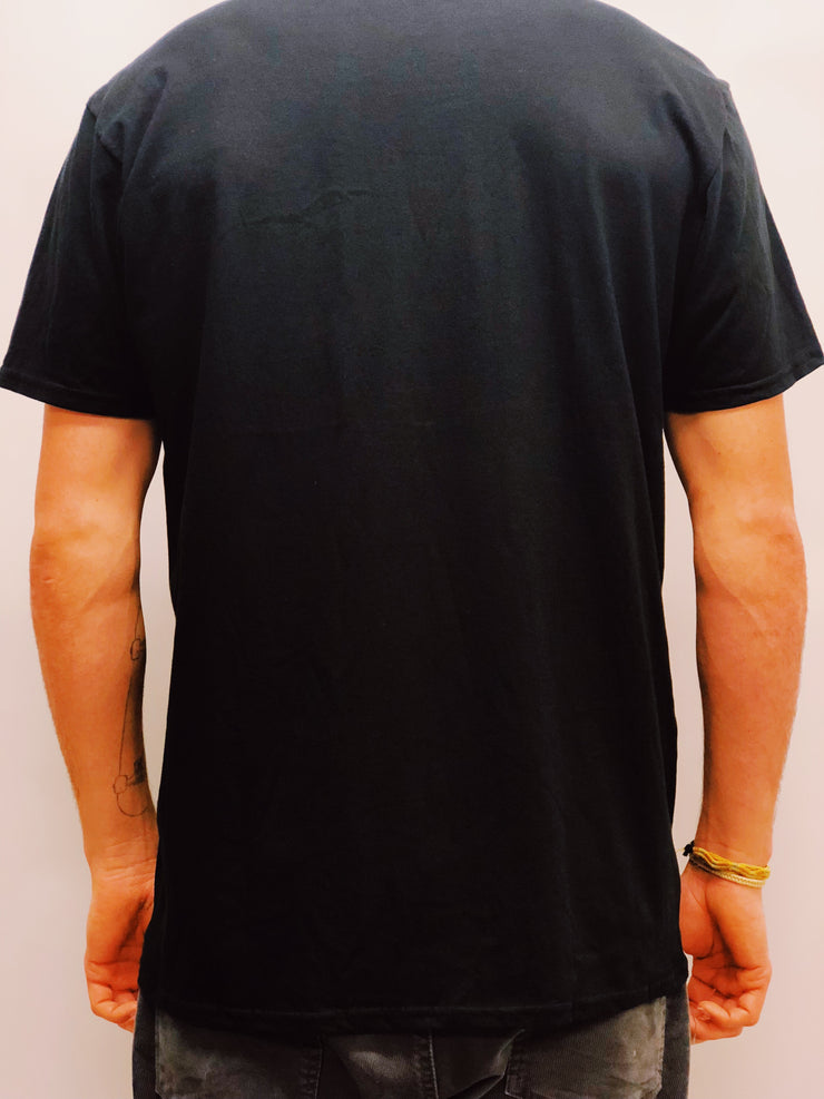 TR7 Short Sleeve Tee Shirt Black - TR7 SKATEBOARDING | LOCAL SKATE SHOP & INDOOR SKATEPARK IN NEWQUAY