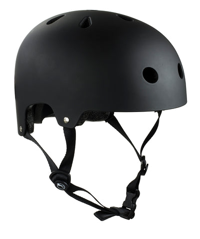 SFR Essentials Helmet - Black / White - XXS/XS - TR7 SKATE | LOCAL SKATE SHOP IN NEWQUAY | SKATER OWNED