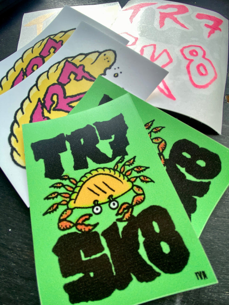 TR7 SK8 X IVA JONES Stickers Pack