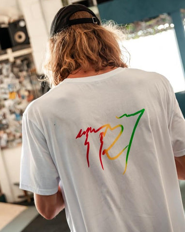 Sour Patch T-Shirt - White - TR7 SKATE | LOCAL SKATE SHOP IN NEWQUAY | SKATER OWNED