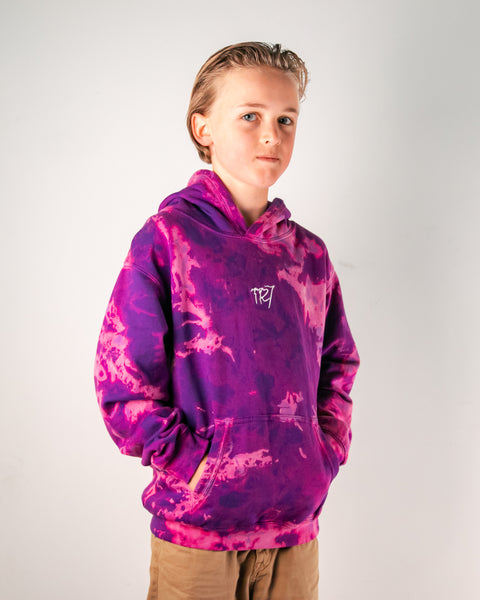 TR7 Milky Way Hoodie Kids - UV Logo - TR7 SKATE | LOCAL SKATE SHOP IN NEWQUAY | SKATER OWNED