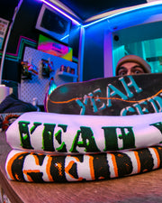 Yeah you T-Shirt - White | TR7 SKATE