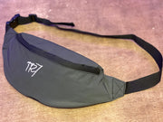 TR7 Reflective Bumbag Black - TR7 SKATE | LOCAL SKATE SHOP IN NEWQUAY | SKATER OWNED