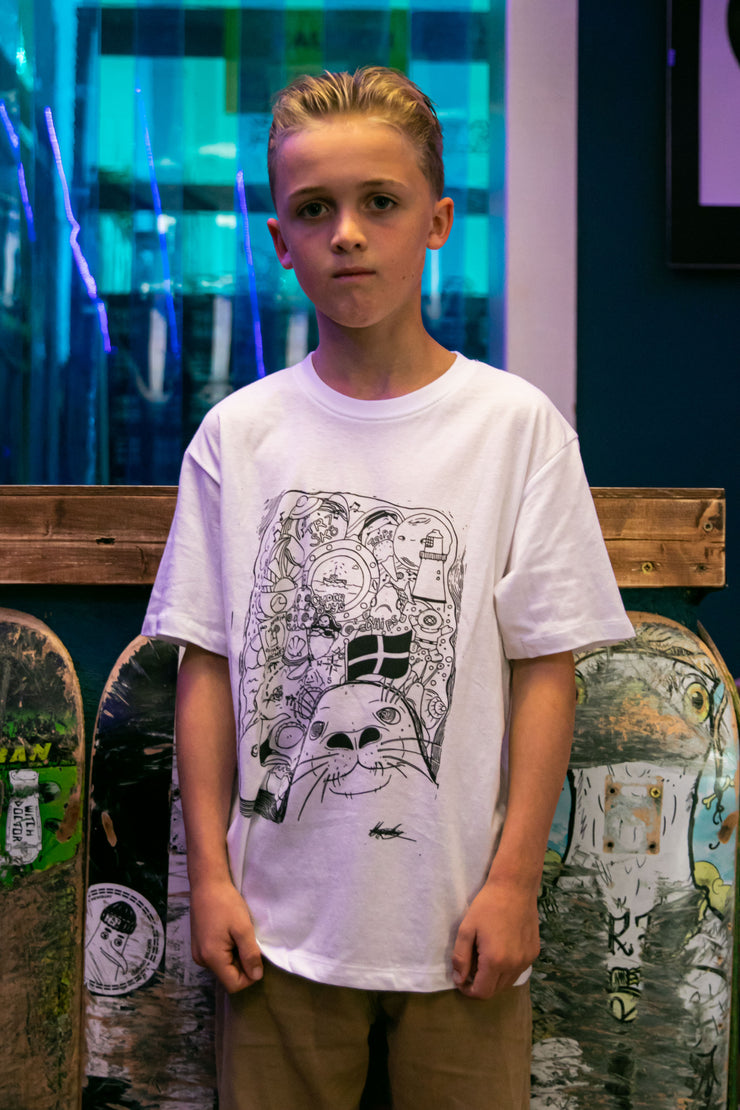 TR7 Cornish Life Kids Tee - TR7 SKATE | LOCAL SKATE SHOP IN NEWQUAY | SKATER OWNED