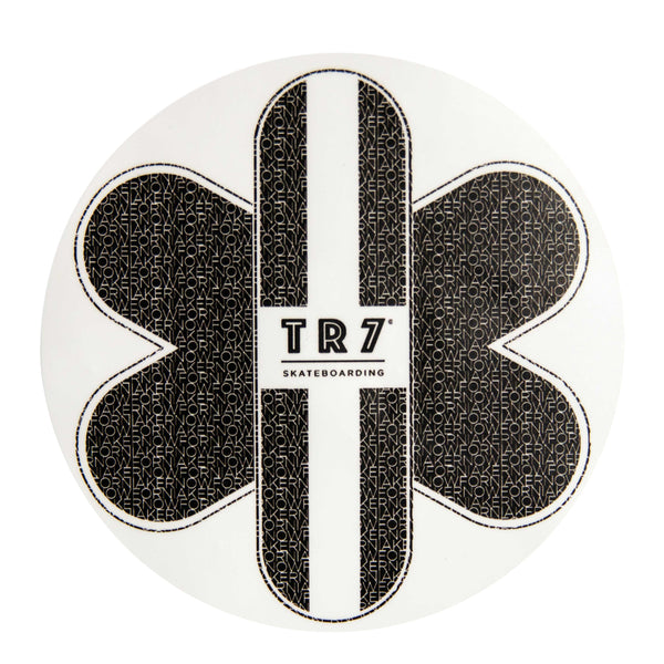 TR7 Logo Kernowfornia Sticker Circle - TR7 SKATE | LOCAL SKATE SHOP IN NEWQUAY | SKATER OWNED