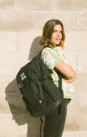TR7 Skate Backpack Black - TR7 SKATEBOARDING | LOCAL SKATE SHOP & INDOOR SKATEPARK IN NEWQUAY