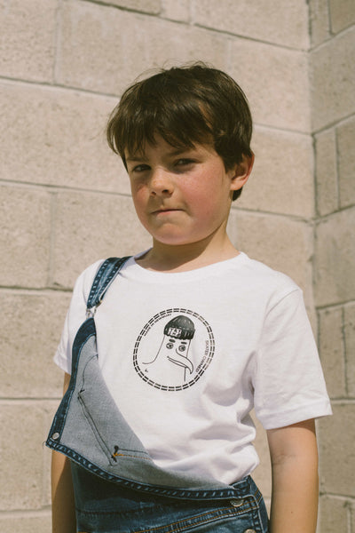 TR7 Seagull White Kids Short Sleeve Tee - TR7 SKATE | LOCAL SKATE SHOP IN NEWQUAY | SKATER OWNED