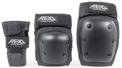 REKD Heavy Duty Triple Pad Set - Black - TR7 SKATE | LOCAL SKATE SHOP IN NEWQUAY | SKATER OWNED