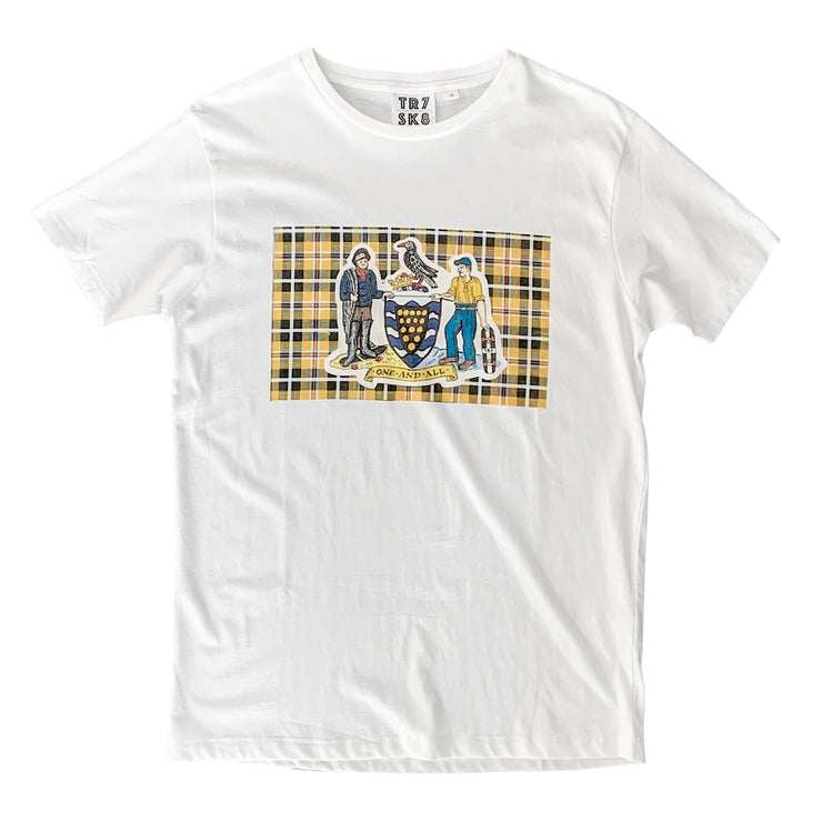 TR7 Coat of Arms Organic Cotton Tee - TR7 SKATE | LOCAL SKATE SHOP IN NEWQUAY | SKATER OWNED
