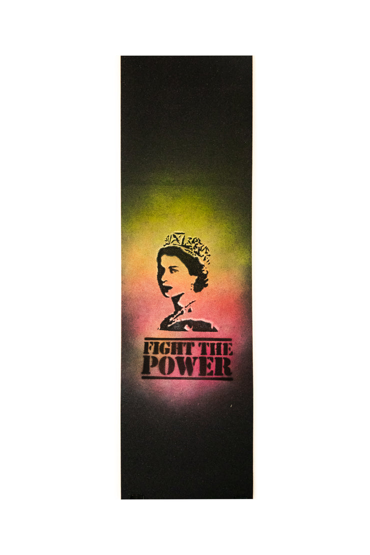 Custom Grip Tape - Fight The Power - TR7 SKATE | LOCAL SKATE SHOP IN NEWQUAY | SKATER OWNED