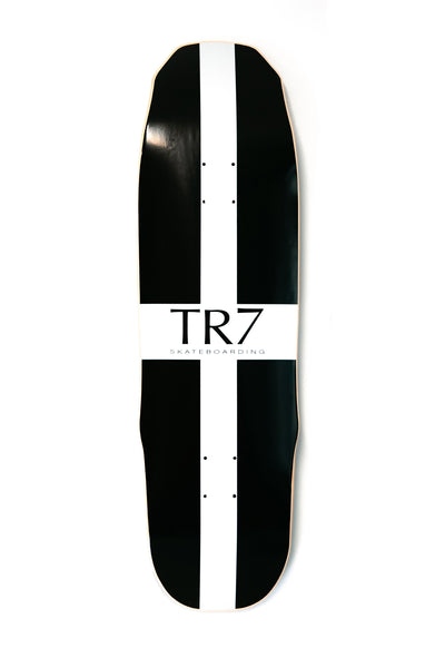 TR7 CORNISH FLAG GOTHIKA SKATEBOARD DECK 9.0 - TR7 SKATE | LOCAL SKATE SHOP IN NEWQUAY | SKATER OWNED