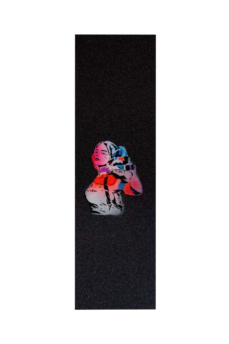 Custom Grip Tape - Harley Quinn - TR7 SKATEBOARDING | LOCAL SKATE SHOP & INDOOR SKATEPARK IN NEWQUAY