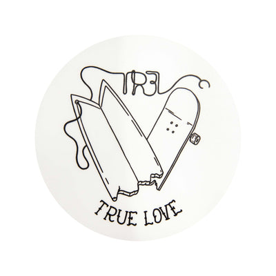 TR7 Surf/Skate Sticker by @Whitelandstattoo - TR7 SKATE | LOCAL SKATE SHOP IN NEWQUAY | SKATER OWNED