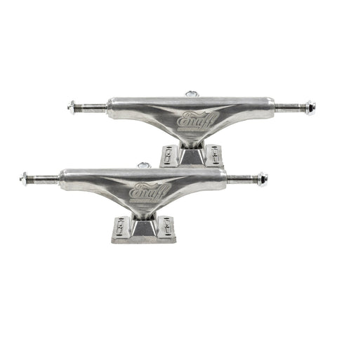 Enuff 139mm Decade Pro Satin Skateboard Trucks Silver - TR7 SKATE | LOCAL SKATE SHOP IN NEWQUAY | SKATER OWNED