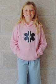 TR7 Classic Kids Hoodie Pink - TR7 SKATEBOARDING | LOCAL SKATE SHOP & INDOOR SKATEPARK IN NEWQUAY
