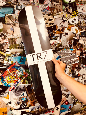 TR7 CORNISH FLAG SKATEBOARD DECK