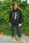 TR7 Classic Black Hoodie - TR7 SKATE | LOCAL SKATE SHOP IN NEWQUAY | SKATER OWNED