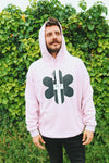 TR7 Classic Pink Hoodie - TR7 SKATE | LOCAL SKATE SHOP IN NEWQUAY | SKATER OWNED