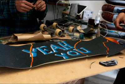 CUSTOM GRIP BY TR7 - TR7 SKATE | LOCAL SKATE SHOP IN NEWQUAY | SKATER OWNED