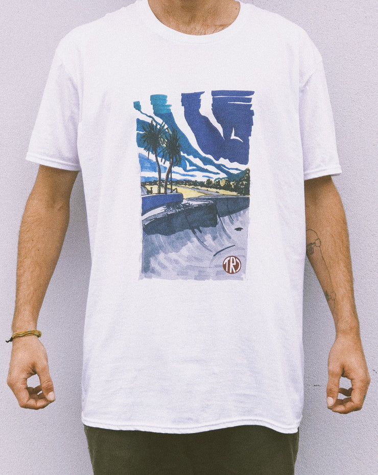 TR7 Concrete Waves Tee - TR7 SKATEBOARDING | LOCAL SKATE SHOP & INDOOR SKATEPARK IN NEWQUAY