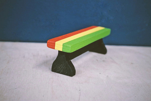 Rasta Bench N2 by Hairy Carpentry - TR7 SKATE | LOCAL SKATE SHOP IN NEWQUAY | SKATER OWNED