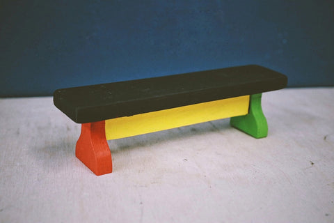 Rasta Bench N1 by Hairy Carpentry - TR7 SKATE | LOCAL SKATE SHOP IN NEWQUAY | SKATER OWNED
