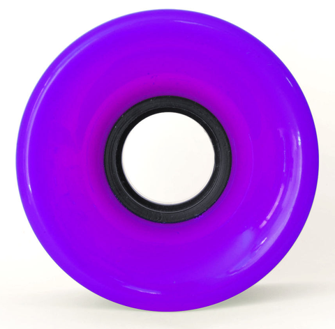 60mm Cruiser Wheels Purple/ Yellow - TR7 SKATE | LOCAL SKATE SHOP IN NEWQUAY | SKATER OWNED
